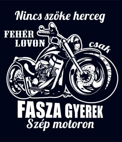Fasza gyerek motoron Póló - Ha Hobby rajongó ezeket a pólókat tuti imádni fogod!