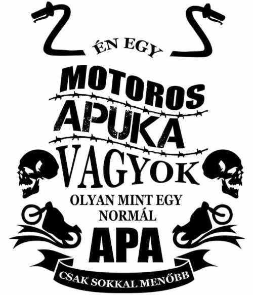 Motoros apa Póló - Ha Hobby rajongó ezeket a pólókat tuti imádni fogod!