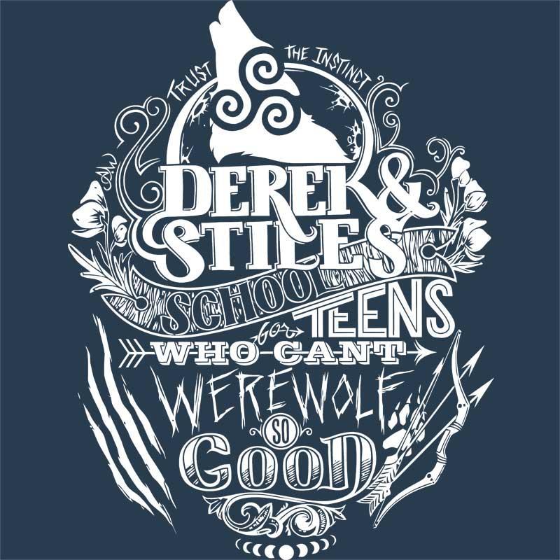 Derek & Stiles Póló - Ha Teen Wolf rajongó ezeket a pólókat tuti imádni fogod!