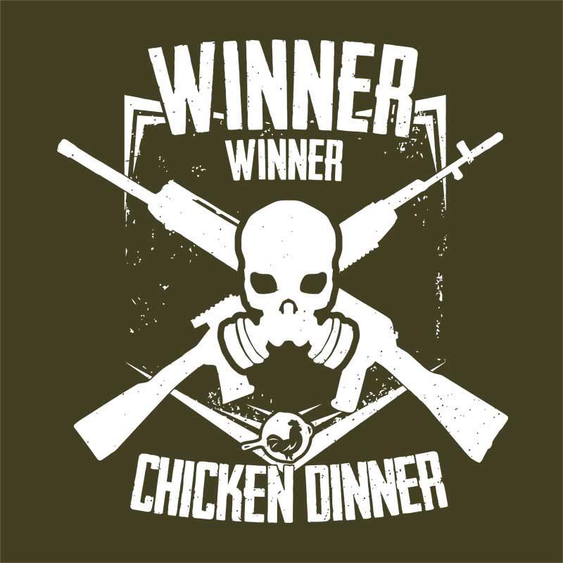 Winner logo Póló - Ha Playerunknowns Battlegrounds rajongó ezeket a pólókat tuti imádni fogod!