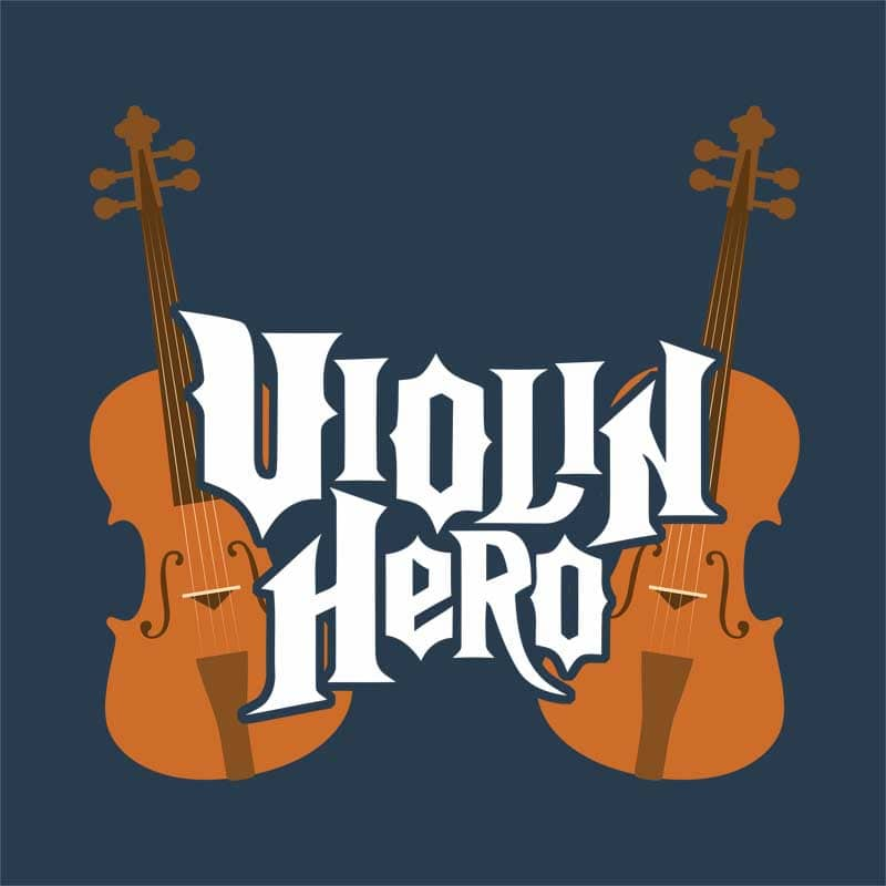 Violin hero Póló - Instrument ac42c8451d