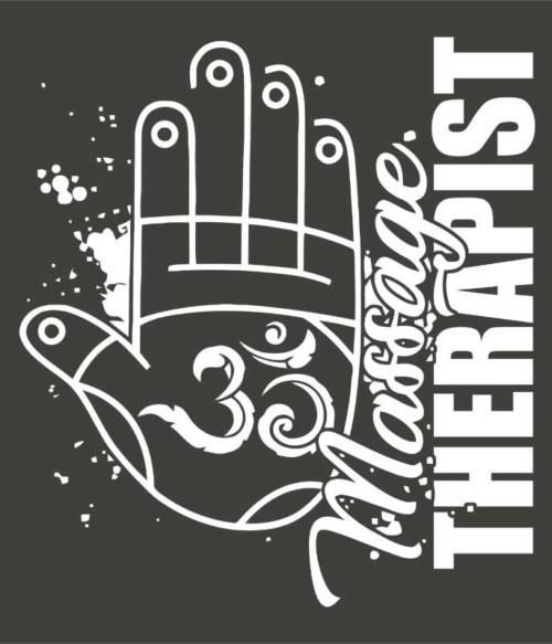 Massage hand Póló - Ha Massage Therapist rajongó ezeket a pólókat tuti imádni fogod!