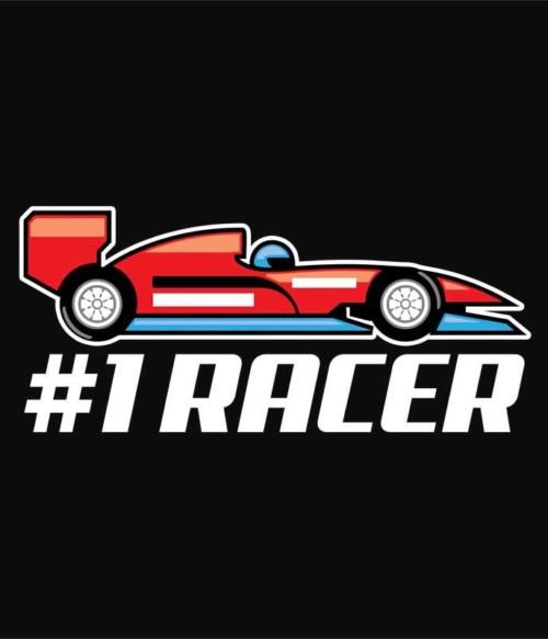 Number 1 racer Póló - Ha Formula 1 rajongó ezeket a pólókat tuti imádni fogod!