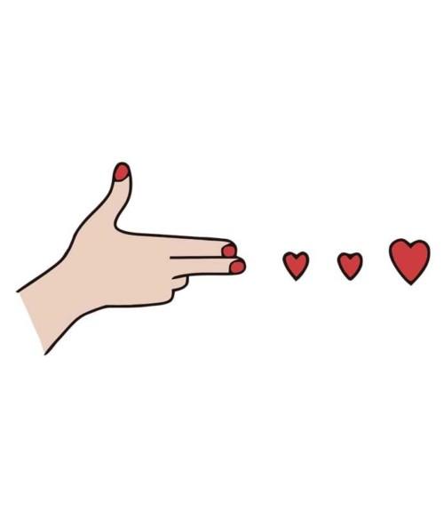 Best friend hand - red Póló - Ha Friendship rajongó ezeket a pólókat tuti imádni fogod!