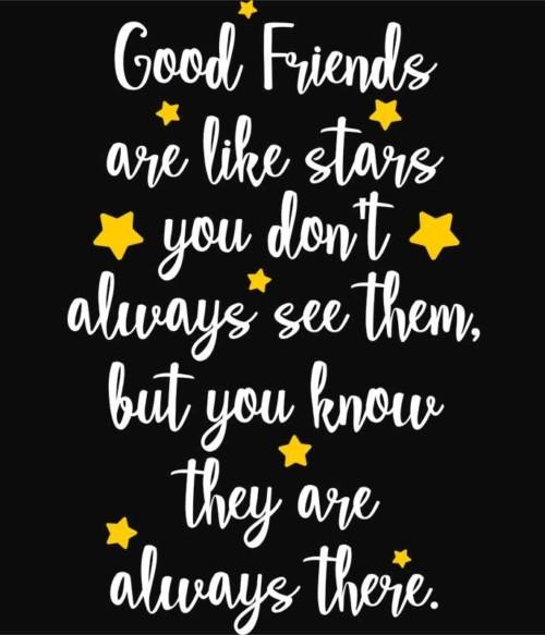 Friends are like stars Póló - Ha Friendship rajongó ezeket a pólókat tuti imádni fogod!