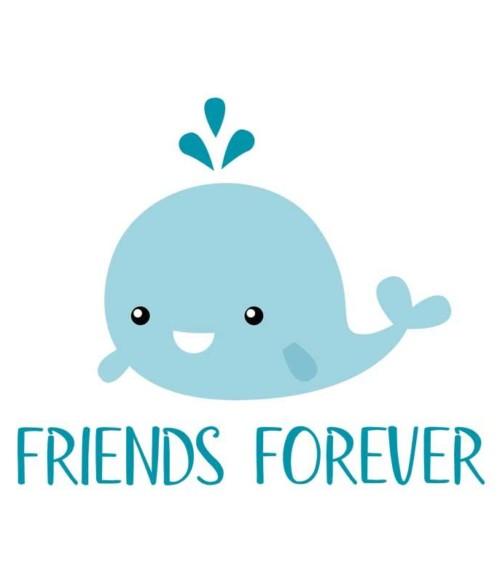 Whale friends 1 Póló - Ha Friendship rajongó ezeket a pólókat tuti imádni fogod!