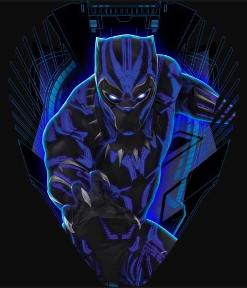 Panther head Póló - Ha Black Panther rajongó ezeket a pólókat tuti imádni fogod!