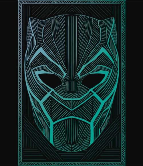 Black Panther mask Póló - Ha Black Panther rajongó ezeket a pólókat tuti imádni fogod!