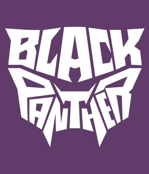 Black Panther text logo Póló - Ha Black Panther rajongó ezeket a pólókat tuti imádni fogod!