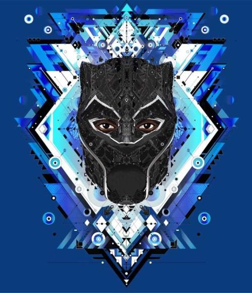 Black Panther Polygon Póló - Ha Black Panther rajongó ezeket a pólókat tuti imádni fogod!