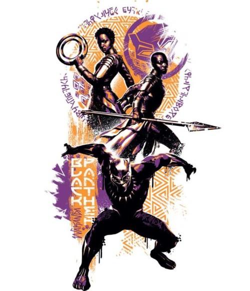 Black Panther Paint Póló - Ha Black Panther rajongó ezeket a pólókat tuti imádni fogod!