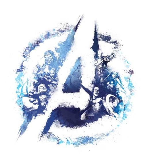 Avengers Team Logo Póló - Ha Avengers rajongó ezeket a pólókat tuti imádni fogod!