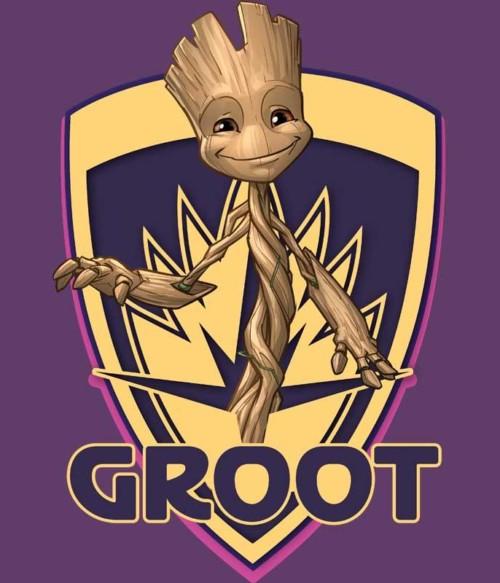 Groot shield Póló - Ha Guardians of the Galaxy rajongó ezeket a pólókat tuti imádni fogod!