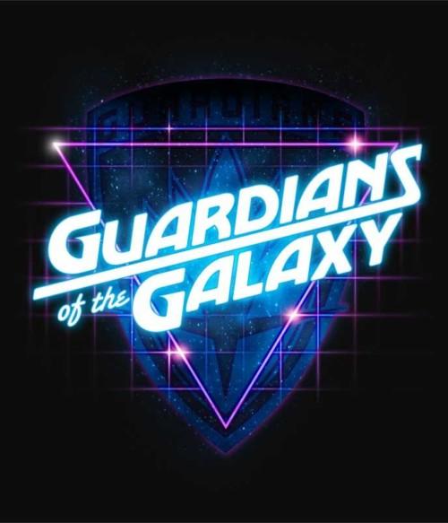 Retro Badge Póló - Ha Guardians of the Galaxy rajongó ezeket a pólókat tuti imádni fogod!