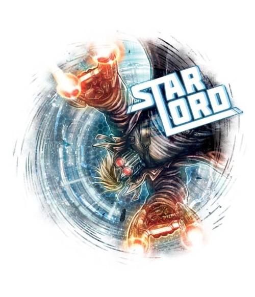 Star Lord swirl Póló - Ha Guardians of the Galaxy rajongó ezeket a pólókat tuti imádni fogod!