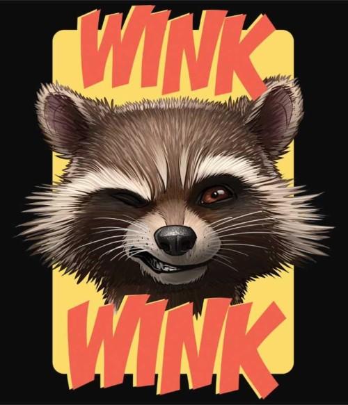 Wink Wink Póló - Ha Guardians of the Galaxy rajongó ezeket a pólókat tuti imádni fogod!