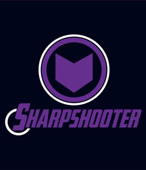 Sharpshooter Póló - Ha Hawkeye rajongó ezeket a pólókat tuti imádni fogod!