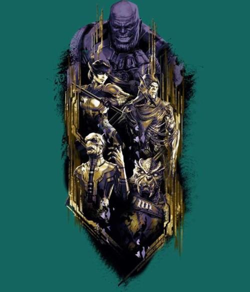 Thanos team splash Póló - Ha Thanos rajongó ezeket a pólókat tuti imádni fogod!