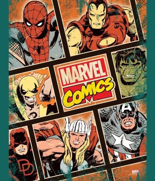 Marvel comics heroes Póló - Ha Captain America rajongó ezeket a pólókat tuti imádni fogod!