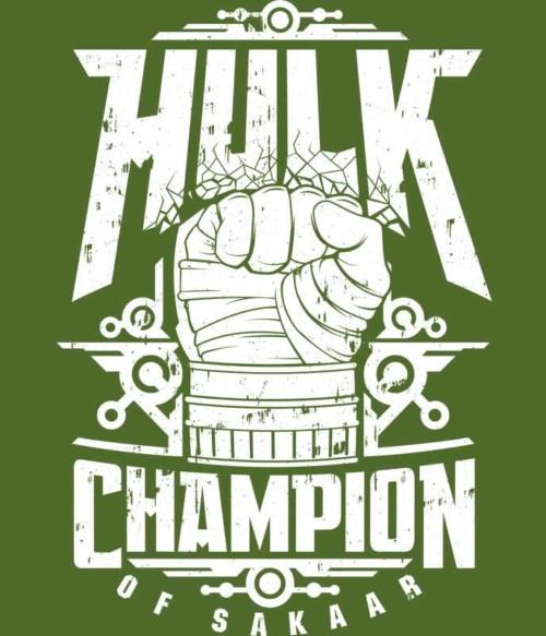 Hulk champion Póló - Ha Hulk rajongó ezeket a pólókat tuti imádni fogod!