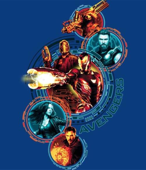 Avengers Infinity War Team Póló - Ha Avengers rajongó ezeket a pólókat tuti imádni fogod!