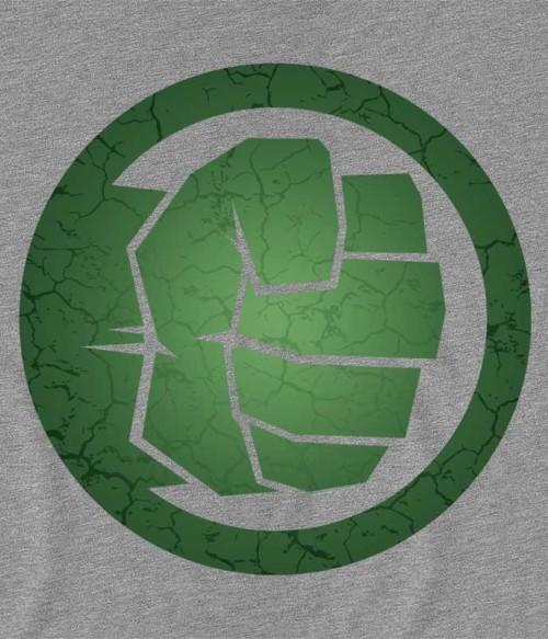 Hulk logo Póló - Ha Hulk rajongó ezeket a pólókat tuti imádni fogod!