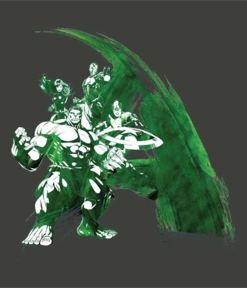 Hulk paint Póló - Ha Hulk rajongó ezeket a pólókat tuti imádni fogod!