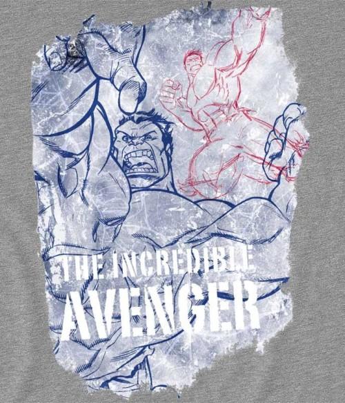 The incredible avenger Póló - Ha Hulk rajongó ezeket a pólókat tuti imádni fogod!