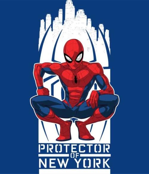 Protector of New York Póló - Ha Spiderman rajongó ezeket a pólókat tuti imádni fogod!