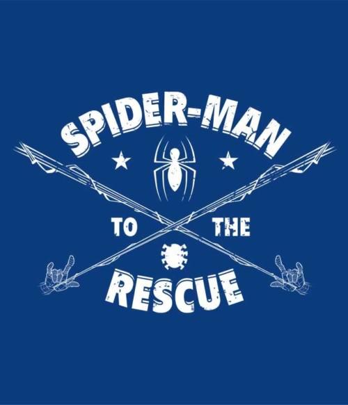 Spider-Man to rescue Póló - Ha Spiderman rajongó ezeket a pólókat tuti imádni fogod!