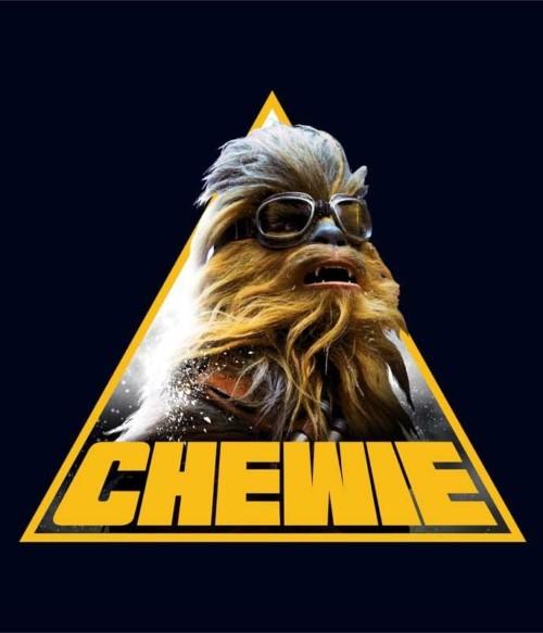 Chewie triangle Póló - Ha Star Wars rajongó ezeket a pólókat tuti imádni fogod!