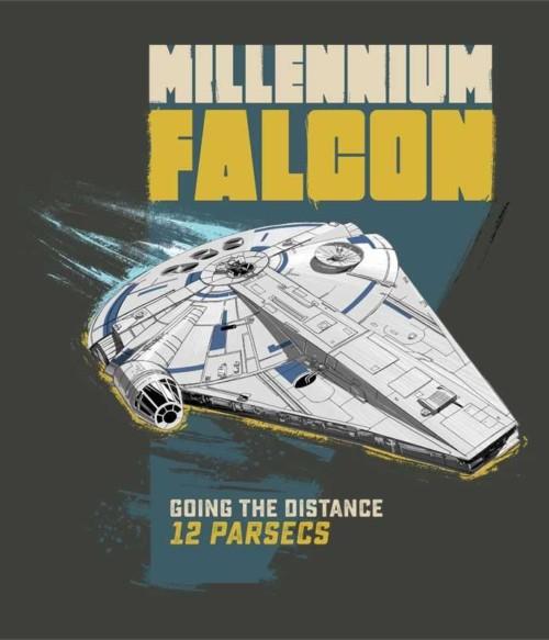Distance 12 parsecs Póló - Ha Star Wars rajongó ezeket a pólókat tuti imádni fogod!