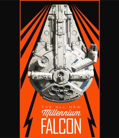Falcon poster Póló - Ha Star Wars rajongó ezeket a pólókat tuti imádni fogod!