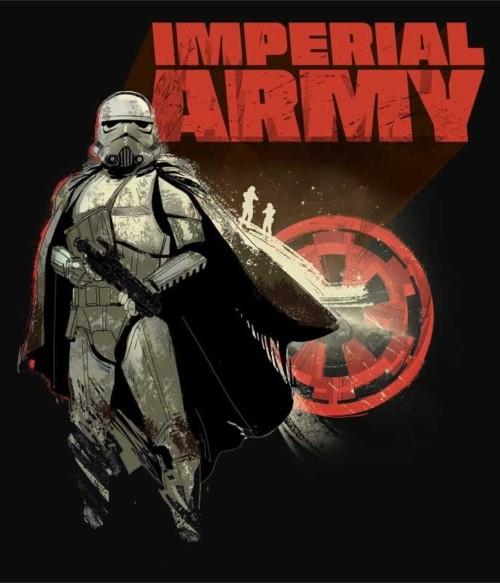 Imperial army Póló - Ha Star Wars rajongó ezeket a pólókat tuti imádni fogod!