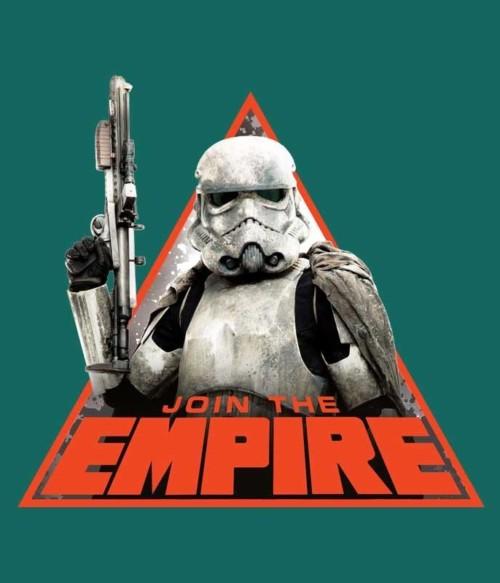 Join the Empire triangle Póló - Ha Star Wars rajongó ezeket a pólókat tuti imádni fogod!