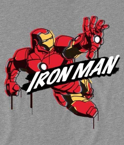 Iron Man comics paint Póló - Ha Iron Man rajongó ezeket a pólókat tuti imádni fogod!