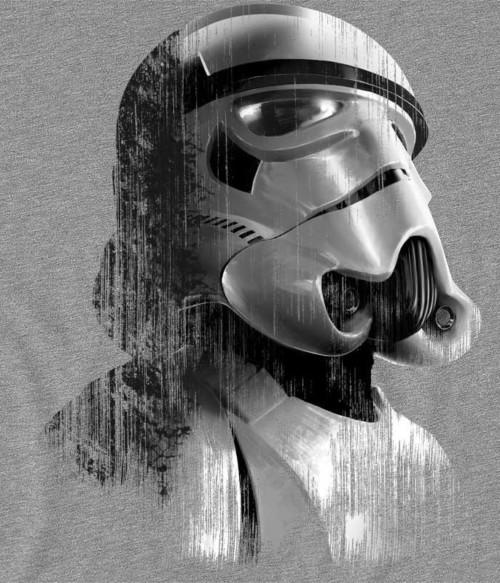 Stormtrooper Grunge Póló - Ha Star Wars rajongó ezeket a pólókat tuti imádni fogod!