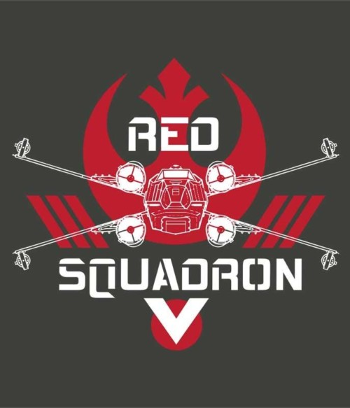 Red Squadron Póló - Ha Star Wars rajongó ezeket a pólókat tuti imádni fogod!