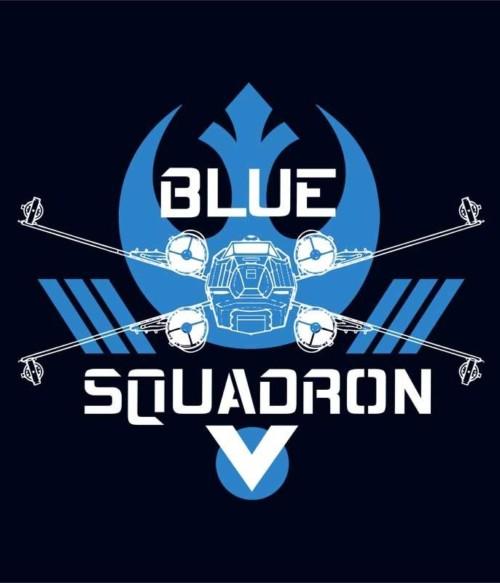 Blue Squadron Póló - Ha Star Wars rajongó ezeket a pólókat tuti imádni fogod!