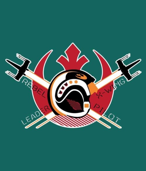 Rebel Leader X-Wing Pilot Póló - Ha Star Wars rajongó ezeket a pólókat tuti imádni fogod!