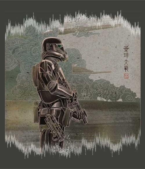 Death Trooper Japanese Póló - Ha Star Wars rajongó ezeket a pólókat tuti imádni fogod!