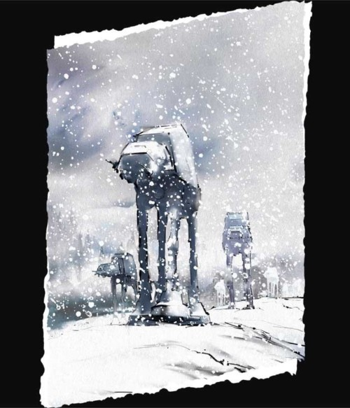 At-At winter Póló - Ha Star Wars rajongó ezeket a pólókat tuti imádni fogod!