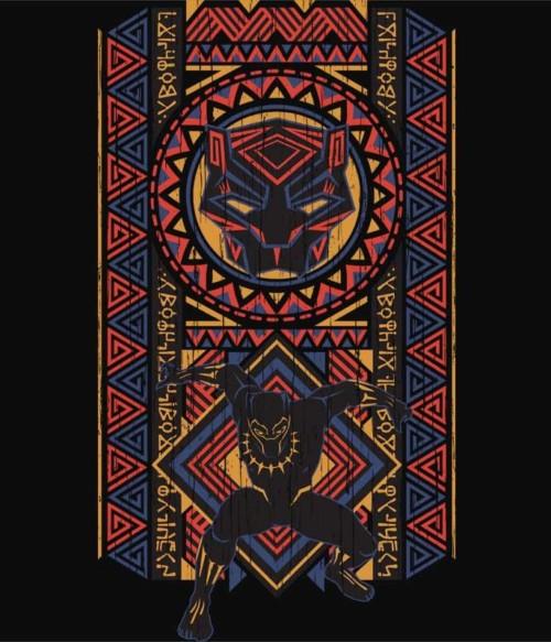 Tribal panther Póló - Ha Black Panther rajongó ezeket a pólókat tuti imádni fogod!