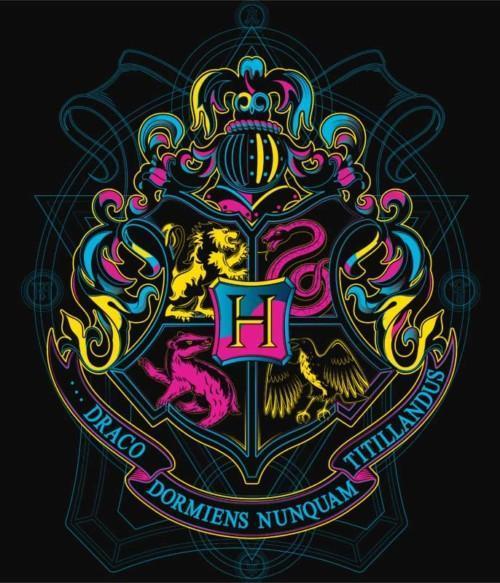 Neon Hogwarts Póló - Ha Harry Potter rajongó ezeket a pólókat tuti imádni fogod!