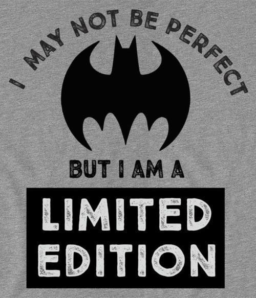 Batman - I am limited edition Póló - Ha Batman rajongó ezeket a pólókat tuti imádni fogod!