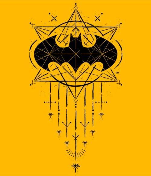 Batman geometric logo Póló - Ha Batman rajongó ezeket a pólókat tuti imádni fogod!
