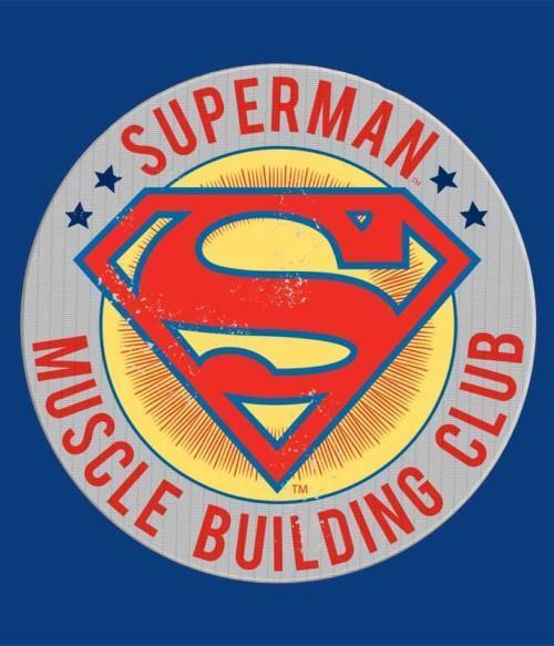 Superman Muscle Building Club Póló - Ha Superman rajongó ezeket a pólókat tuti imádni fogod!