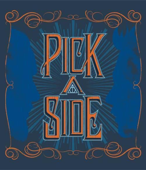 Pick a Side Póló - Ha Fantastic Beasts: The Crimes of Grindelwald rajongó ezeket a pólókat tuti imádni fogod!