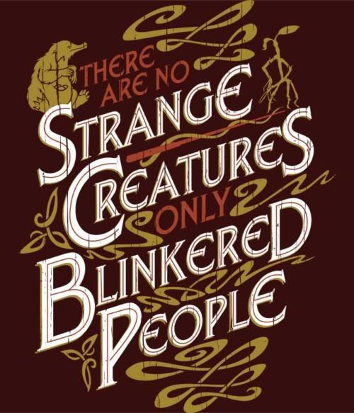 There are no Strange Creatures Póló - Ha Fantastic Beasts: The Crimes of Grindelwald rajongó ezeket a pólókat tuti imádni fogod!