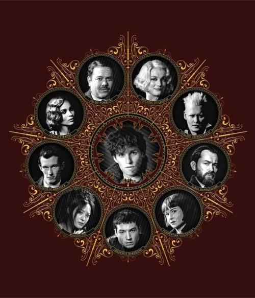 The Crimes of Grindelwald Team Póló - Ha Fantastic Beasts: The Crimes of Grindelwald rajongó ezeket a pólókat tuti imádni fogod!